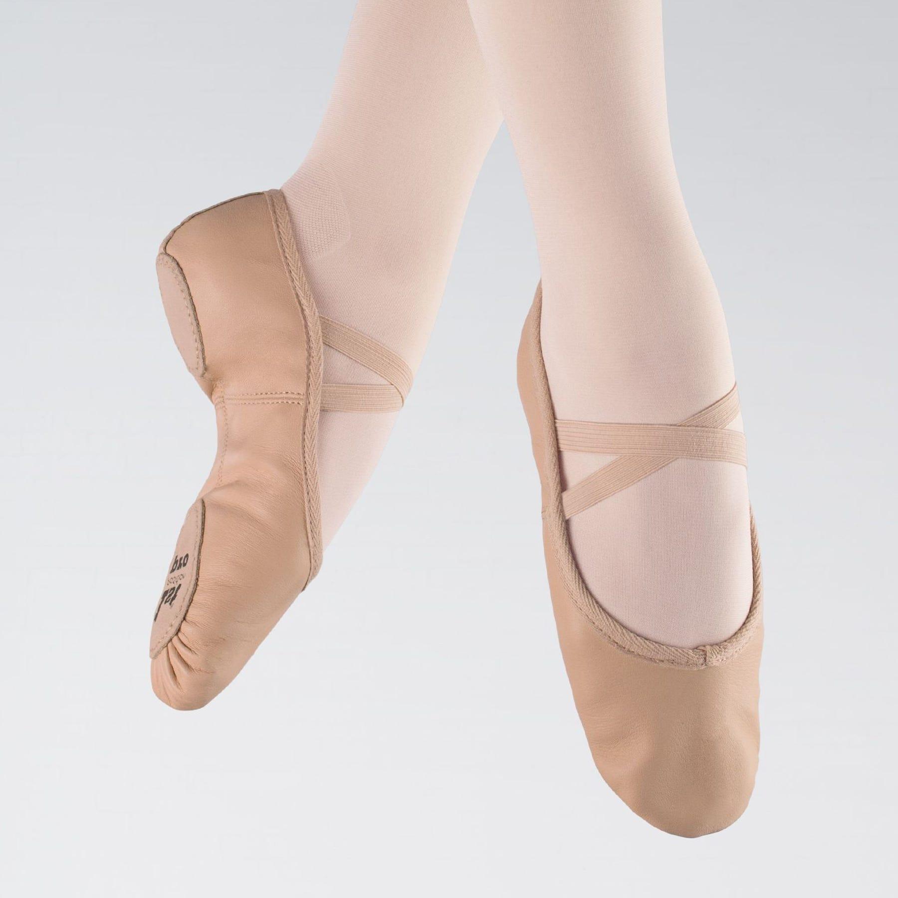 Ballettschuhe mit geteilter Sohle