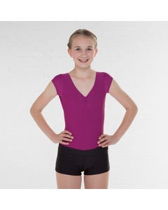 ABD Jazz Modern Akrobatik Shorts für Frauen und Mädchen (Matt)