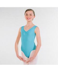 ISTD Ballett-Trikot mit Raffung an der Vorderseite (Klasse 1-4)
