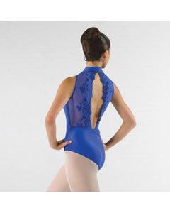 Ballet Rosa Amelie - Hochgeschlossenes Trikot mit offenem Spitzen Rücken