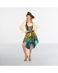 Luxuriöses Piratenkostüm für Damen