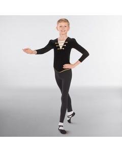 1st Position Velour Ballet Tunic