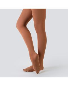 Nude Barre Strumpfhosen mit Fuß
