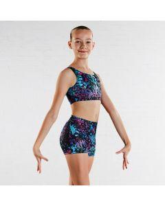 Bloch Shorts für Mädchen mit Puzzlemuster
