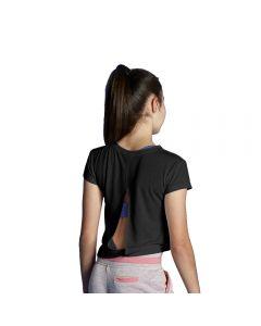 Top / T-Shirt mit Rückenausschnitt