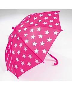 Regenschirm mit Sternen