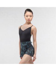Ballet Rosa bedruckter Mesh Wickelrock
