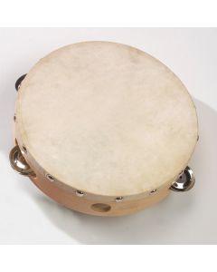 Tambourin mit Naturhaut (20cm Durchmesser)