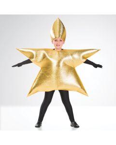Goldener Stern - Kinder Einheitsgröße