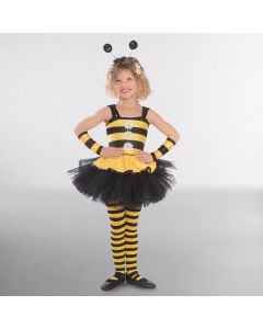 1st Position Bee Dress Overlay with Daisies