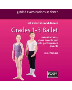 RAD Grades 1-3 Ballett DVD