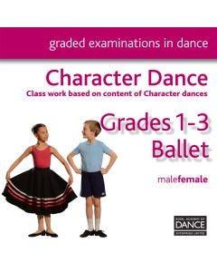 RAD Grades 1-3 Charakter CD