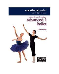 RAD Advanced 1 Begriffserläuterungen Ballett Damen und Herren