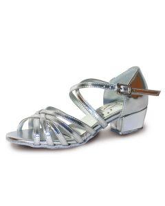 Roch Valley Bella Ballroom Coag Shoe X-Straps 1.2  inch Cuban Heel