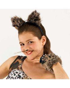 Haarband mit flauschigen Tierohren