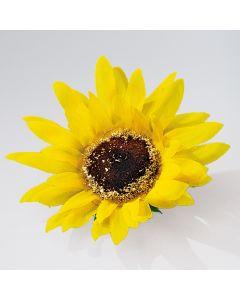 Ansteck-Sonnenblume mit Klammer