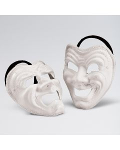 Maske mit traurigem Gesicht