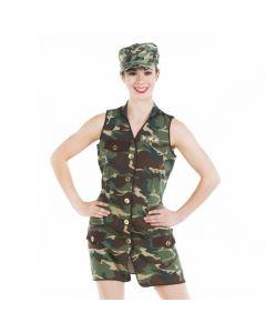 Army Girl Kleid für Erwachsene
