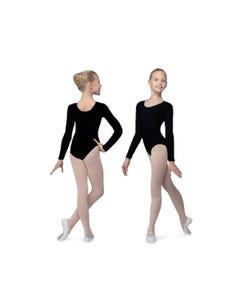 Tanztrikot mit langem Arm