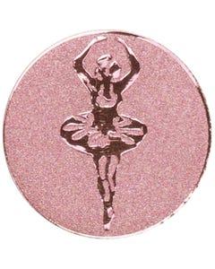 Trophäen-Mittelstück mit Ballerina aus Metall