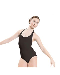 Neckholder-Tanztrikot mit freiem Rücken