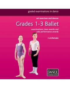 RAD Grades 1-3 Ballett Buch