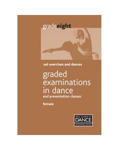 RAD Grade 8 Lehrplanbuch für Damen