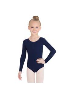 Kinder Tanztrikot mit langem Arm