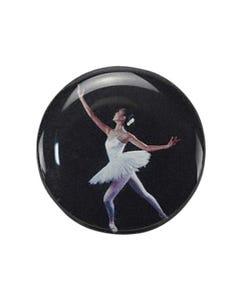 Medaillencenter mit Ballerina-Foto