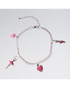 Armband mit Ballerina und Herzen