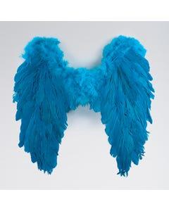 Türkisfarbene Federflügel