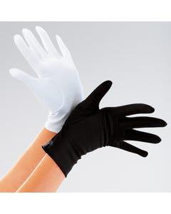 Kurze Handschuhe für Erwachsene Schwarz