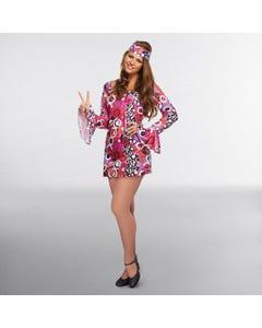 Hippie-Kleid für Erwachsene